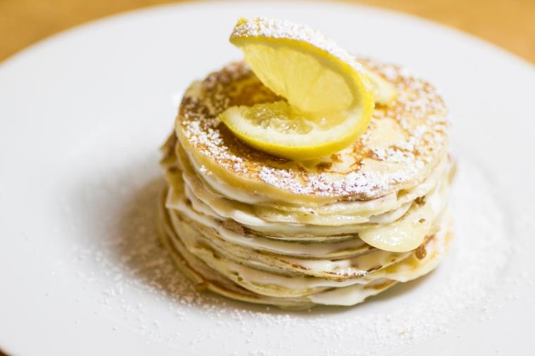 Pancakes & Pancake Cakes (Part 2 - Lemon Mascarpone Crepe Stack)