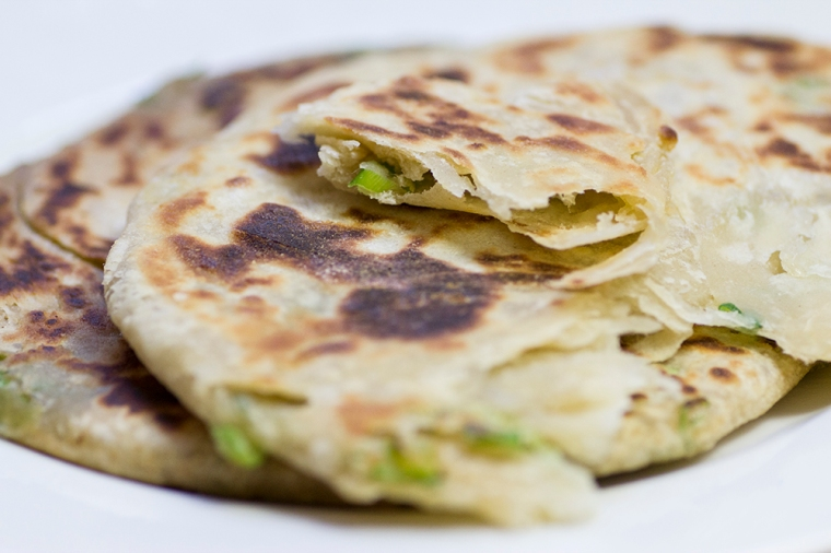 Scallion/spring onion pancakes recipe