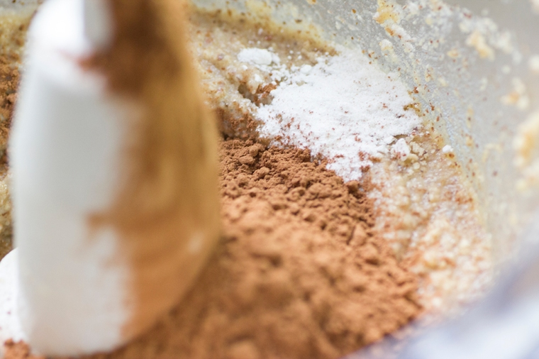 Baking with cocoa powder