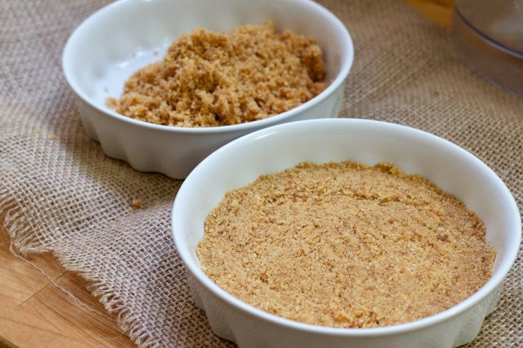 Biscuit flan or tart base
