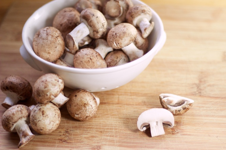Mushrooms - July's #monthlyveg on Handful of Sunshine
