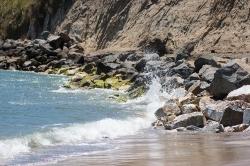 Capitola beach. On handfulofsunshine.com