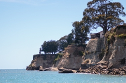 Cliffs at Capitola. On handfulofsunshine.com