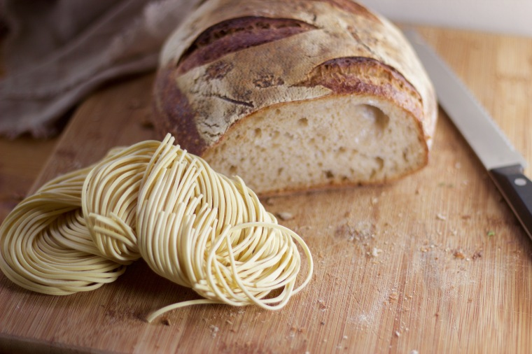 Wheat, gluten, bread, pasta on handfulofsunshine.com